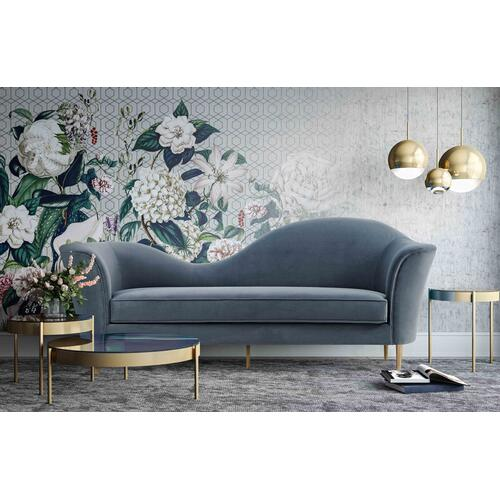 Product Image - Plato Grey Velvet Sofa