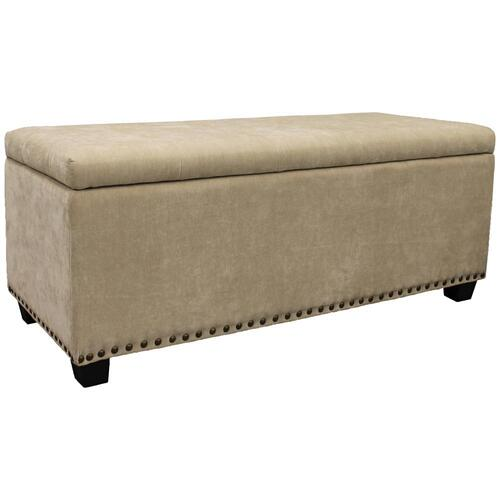 Downy Upholstered Storage Bench