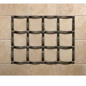 Grid - Backsplash Silicon Bronze Brushed Product Image
