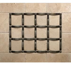 Grid - Backsplash Silicon Bronze Brushed Product Image