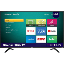 "55"" Class - R6070 Series - 4K UHD Smart Hisense Roku TV (2020)"