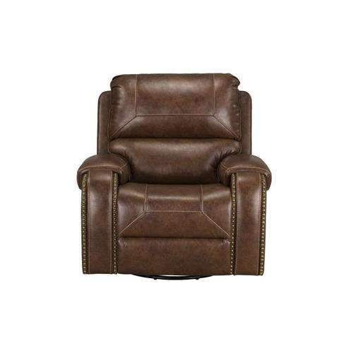 Gallery - Winslow Manual Motion Swivel Glider Recliner, Brown