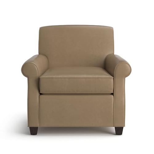 Bassett Furniture - Brevard Leather Accent Chair
