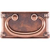 Mission Plate Pull 3 Inch (c-c) Old English Copper