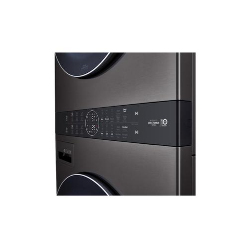 Single Unit Front Load LG WashTower™ with Center Control™ 4.5 cu. ft. Washer and 7.4 cu. ft. Electric Dryer