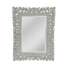 See Details - Traditional Mirror with Art Deco Flair