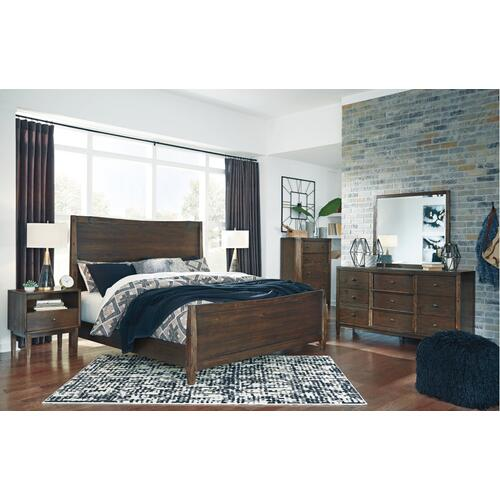 Kisper King Panel Bed