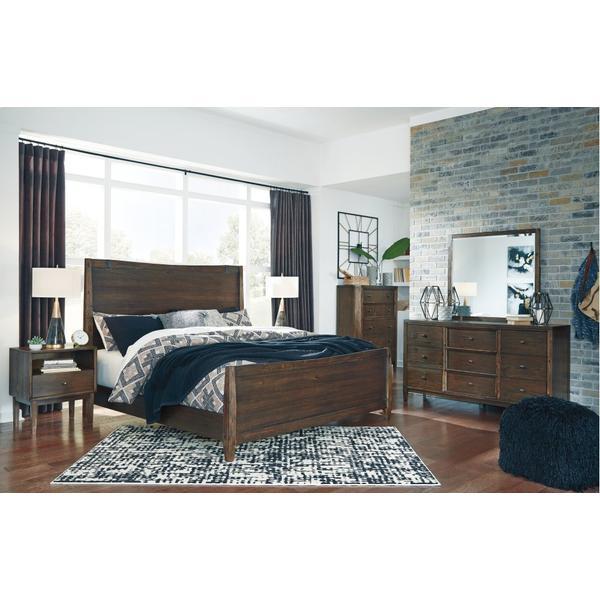 Kisper King Panel Bed