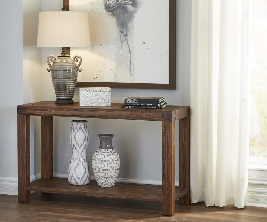 Meadow Console Table with Graphite Finish