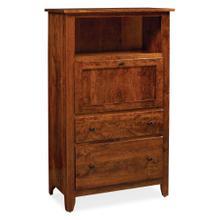 See Details - Shenandoah Laptop Cabinet with File Drawer