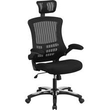 High Back Office Chair  High Back Mesh Executive Office and Desk Chair with Wheels and Adjustable Headrest