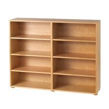 See Details - 8 Shelf Bookcase : Natural