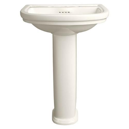 Dxv - St. George Pedestal Bathroom Sink - Biscuit