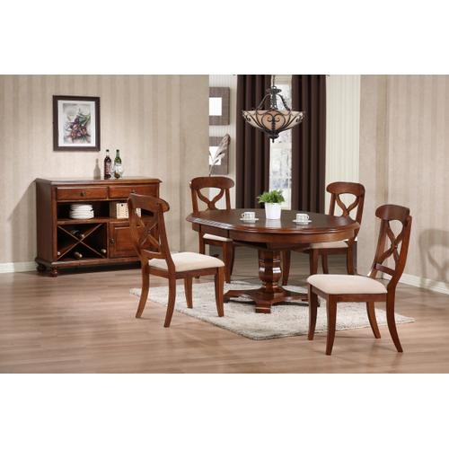 Butterfly Leaf Dining Table - Chestnut