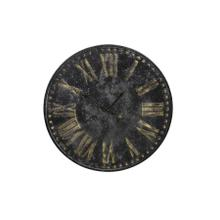 See Details - 7107712 - Clock 80x3,5 cm ETHAN antique black
