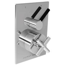Cross handle pressure balance with Zu lever 2-way diverter trim only, to suit M1-4101 rough