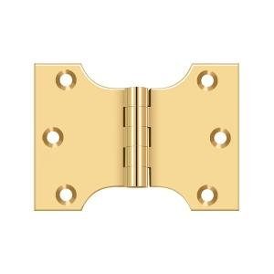 "3"" x 4"" Hinge - PVD Polished Brass Product Image"
