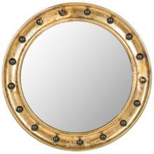 Mariner Porthole Mirror - Antique Gold