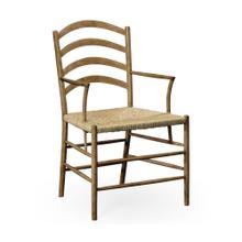 Glendurgan Washed Oak Arm Chair