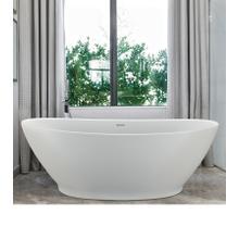 Elise  66-in Organic Bathtub with Small Footprint