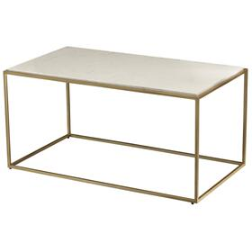 Misty Stone Rectangular Condo Cocktail Table