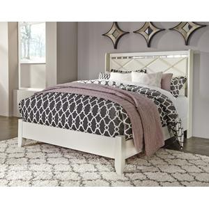 Dreamur Queen Panel Footboard With Rails