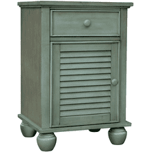 Nantucket Antique Fern Door Nightstand