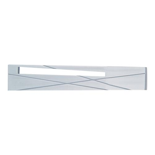 Modernist Left Pull 3 Inch (c-c) - Brushed Nickel