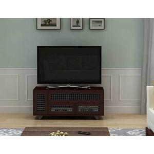 "Dark Cherry AV Stand For TVs up to 60"" and 100 lbs / 45 kg"