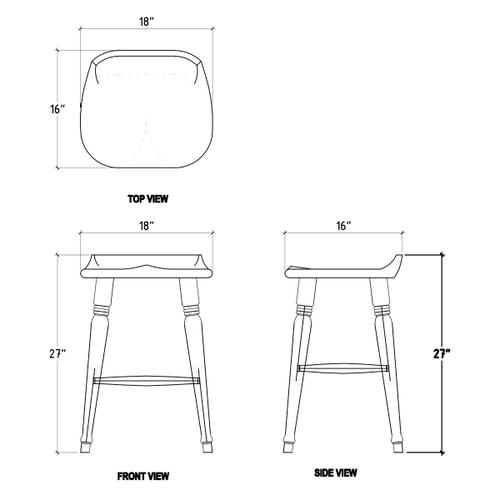 Gallery - Tractor Counter Stool