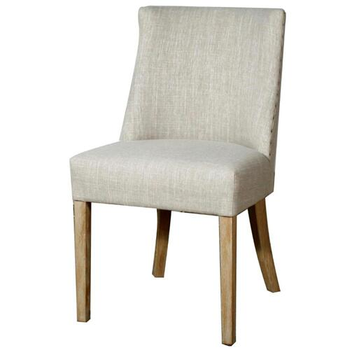New Paris Fabric Chair, Rice