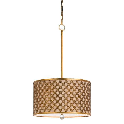 60W X 3 Fairview Metal Pendant