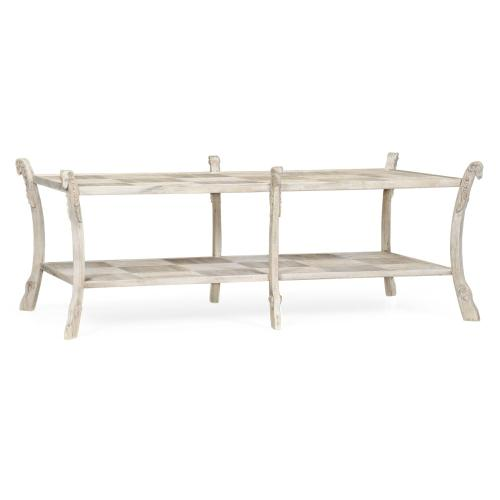 Collana Washed Acacia Coffee Table