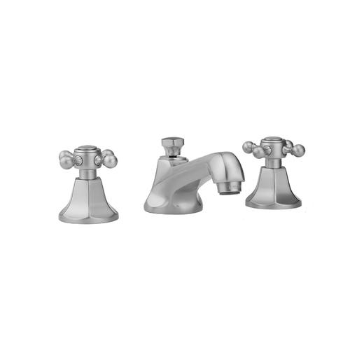 Jaclo - Pewter - Astor Faucet with Ball Cross Handles- 1.2 GPM