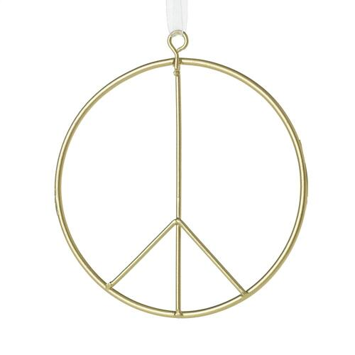"4"" Peace Sign Ornament"