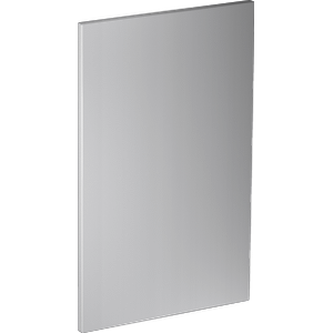 MieleGFVi 453/72-7 - Int. front panel: W x H, 18 x 28 in Clean Touch Steel™ w/o handle & bore holes for fully integrated dishwashers