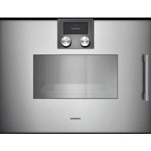 200 Series Combi-steam Oven 24'' Door Hinge: Left, Door Hinge: Left, Gaggenau Metallic