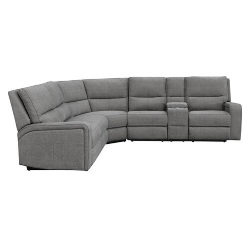 Medford Rsf Console Power Loveseat, Charcoal Ash U8055-28-23