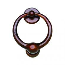 "7"" Round Door Knocker - DK7 White Bronze Dark"