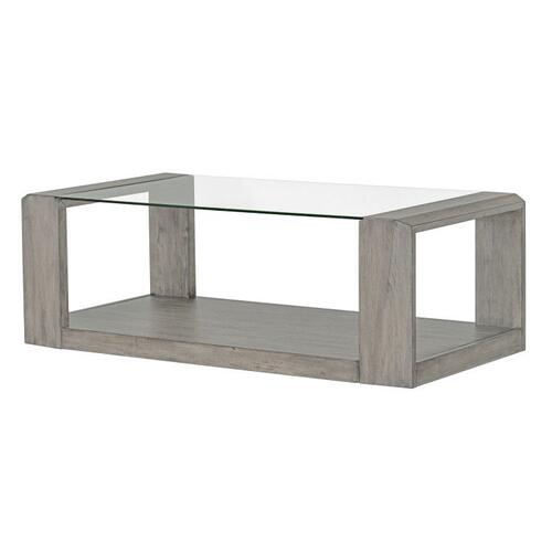 Standard Furniture - Sonata Grey Coffee Table