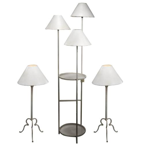 A & B Home - S/3 Table lamp