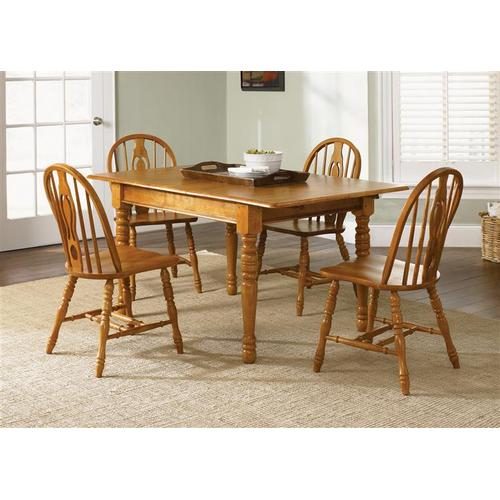 Liberty Furniture Industries - Butterfly Leaf Leg Table
