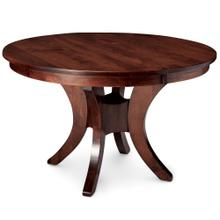 """View Product - Park Avenue Single Pedestal Table, 48"""" round (Max 3 Leaves) / One 12"""" Leaf"""