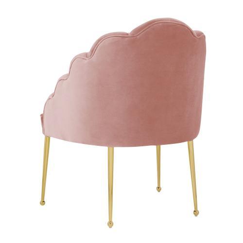 Tov Furniture - Daisy Petitie Blush Velvet Chair