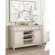 Bella Grigio - Buffet - Chipped White Finish Product Image