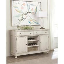 Bella Grigio - Buffet - Chipped White Finish