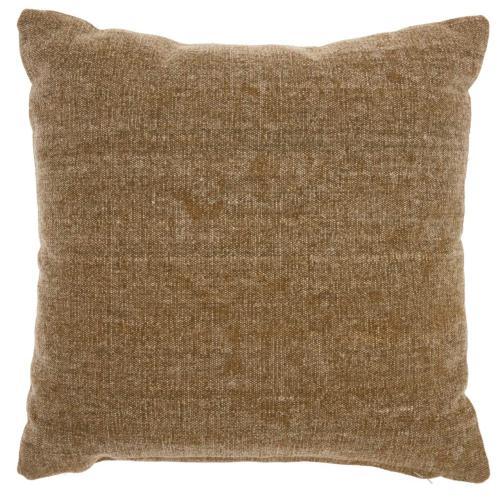 "Life Styles Gt626 Beige 18"" X 18"" Throw Pillow"