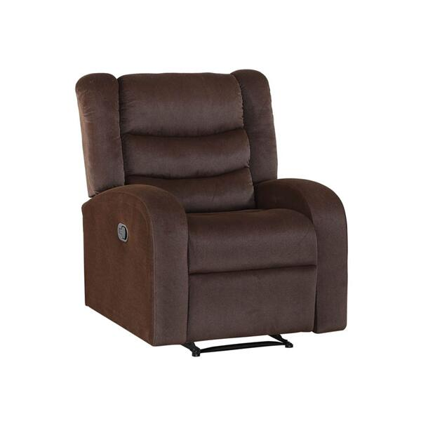 Madeline Manual Recliner, Brown