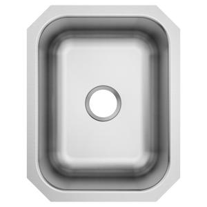 1800 Series 16 x 20.5 stainless steel 18 gauge single bowl sink