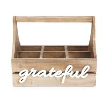 Grateful Wood Caddy